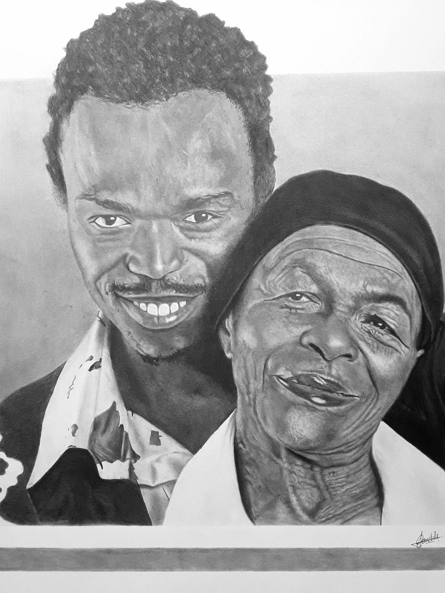 I made this Piece 7 Months ago I was hoping Mam Mary Twala would see it😟💔...I dont know why it hasnt reached @somizi yet☹️.. Please help me Retweet this until he sees it🙏. #Somizi #mohale #ArtistOnTwitter #artwork #Art #Pencildrawing #Trending