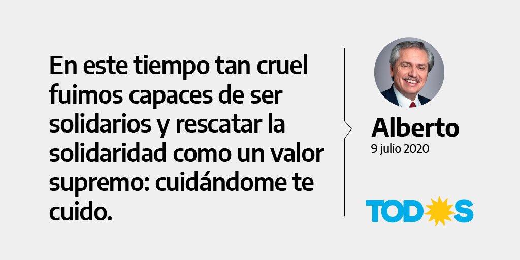 #DiaDeLaIndependencia 🇦🇷  #ArgentinaUnida https://t.co/GUXlZIIIh0