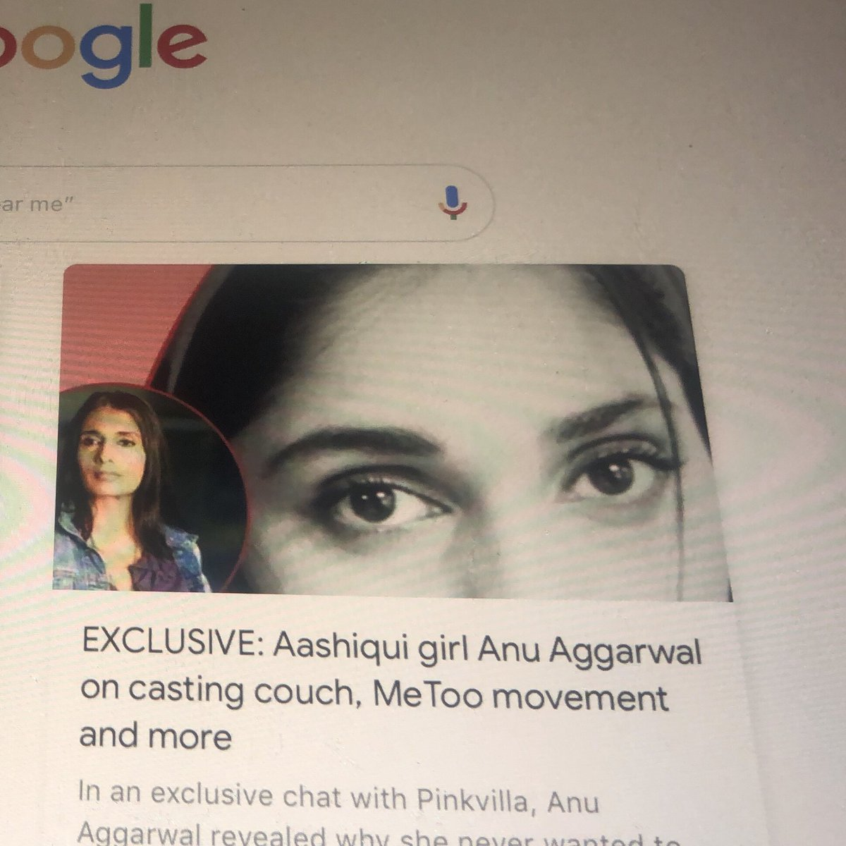 Express and act through your eyes your best weapon #EyeTwitter #anuaggarwal #actor #bollywood #aashiqui #supermodel #thursdaymorning #ThursdayThoughtspic.twitter.com/bnmu8KOJgX