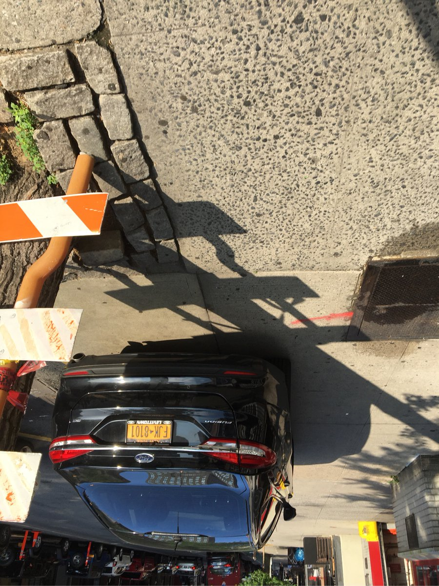 The driver FHK8101 parked illegally near 523 2nd Ave on July 9. This is in Manhattan Community Board 06 #cbsix & #NYPD13. #VisionZero
