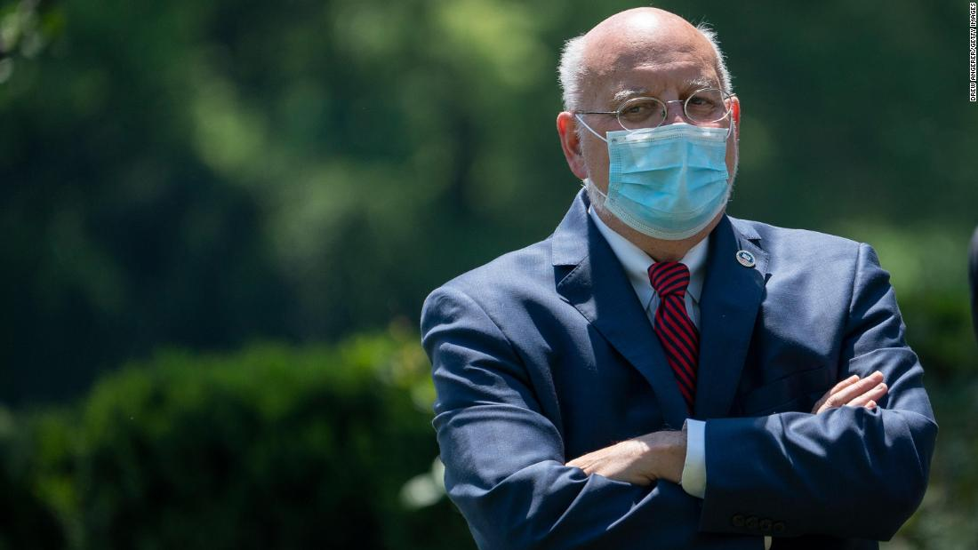 The CDC will not revise guidelines for schools reopening, Director Dr. Robert Redfield says. His comments come a day after Trump tweeted that he disagreed with the guidelines. Follow live updates: