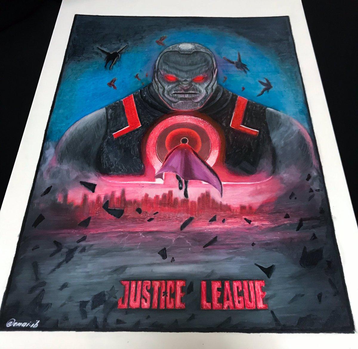 Darkseid justice league done ✍🏻💯  #justiceleague #darkseid #drawing #vsco #vscom #vscocam #drawings #drawingsketch #prismacolor #touchfivemarkers #malaysia #polychromospencils #fabercastell #polychromos @twt_seni @FineArtMalaysia @twt_grafik