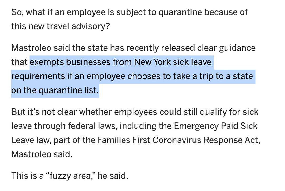 This is kind of amazing. Businesses are required to provide sick leave unless the employee gets sick doing something stupid/against the rules. Will this concept be extended to other situations? Skydiving, for example? Biking without a helmet?