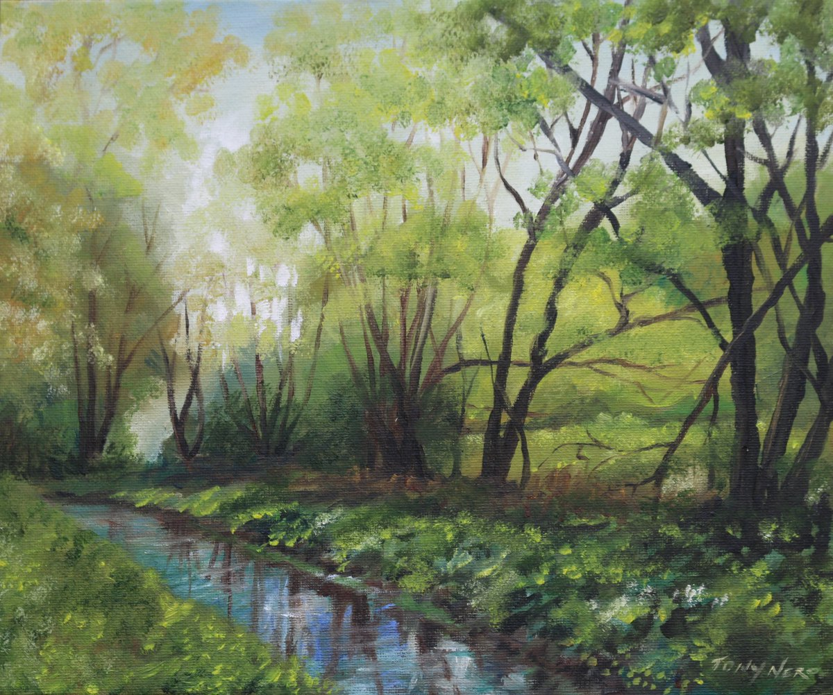 Free Arty Give Away #landscape #painting Offer ends Sunday evening...see link for a chance to win.