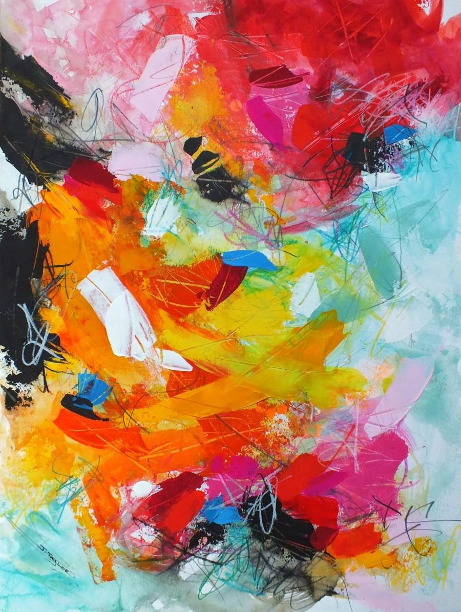 "New #abstract #artwork added today. ""Finding Happy"" by Jacqueline Taylor http://ow.ly/XjU130qXfe4  #abstractart #modernart #contemporaryart #modernhome #moderndecor #homedecor #interior #art #painting #artist #artgallerypic.twitter.com/F8SZaoxSvP"