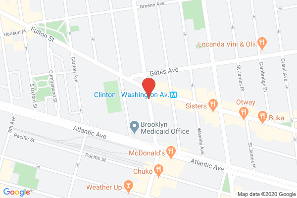 Freightliner M2 driver 33650MK blocked the bike lane near 840 Fulton St on July 9. This is in Brooklyn Community Board 02 & #NYPD88. #VisionZero #BlockedBikeNYC