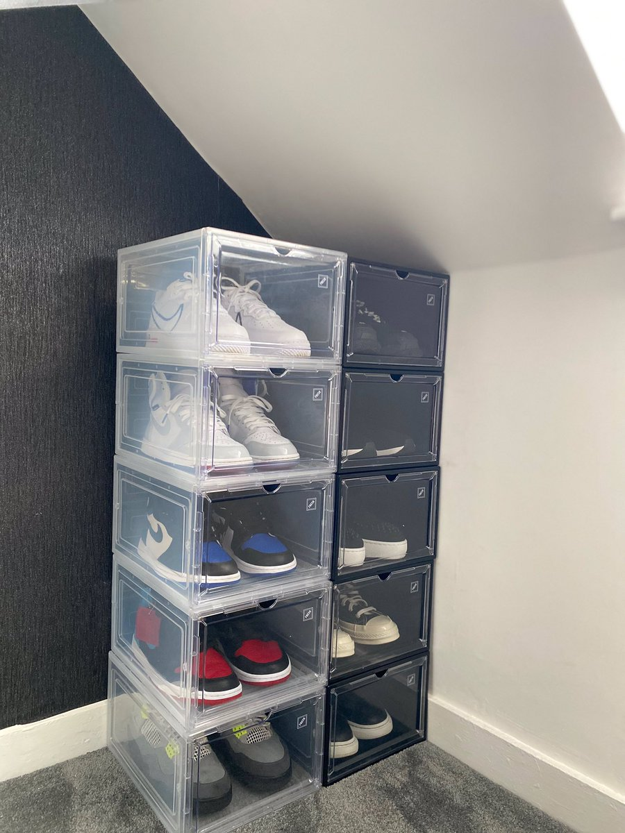 Need trainer storage? Check out our profile for the best shoe storage 🔌 website in bio. https://t.co/86qRNEEkJ2