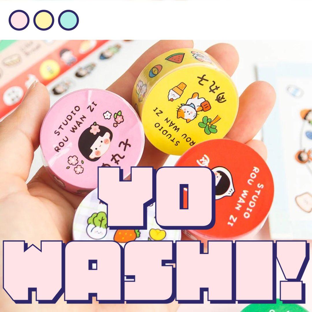 New Washi! Cute Kawaii Japanese & Korean stationery #lovebujo #bulletjournal #kawaiistationery #cutewashitape #lovekawaiipic.twitter.com/Ib2X5OmlzU