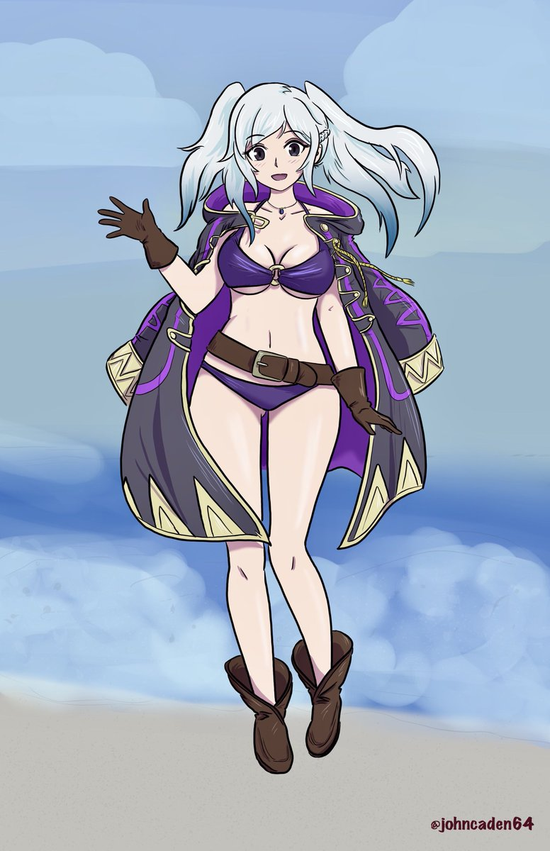Not to be outdone, Robin, Lucina, and Corrin join the #FEH  pool party<br>http://pic.twitter.com/YMu45Vsdze