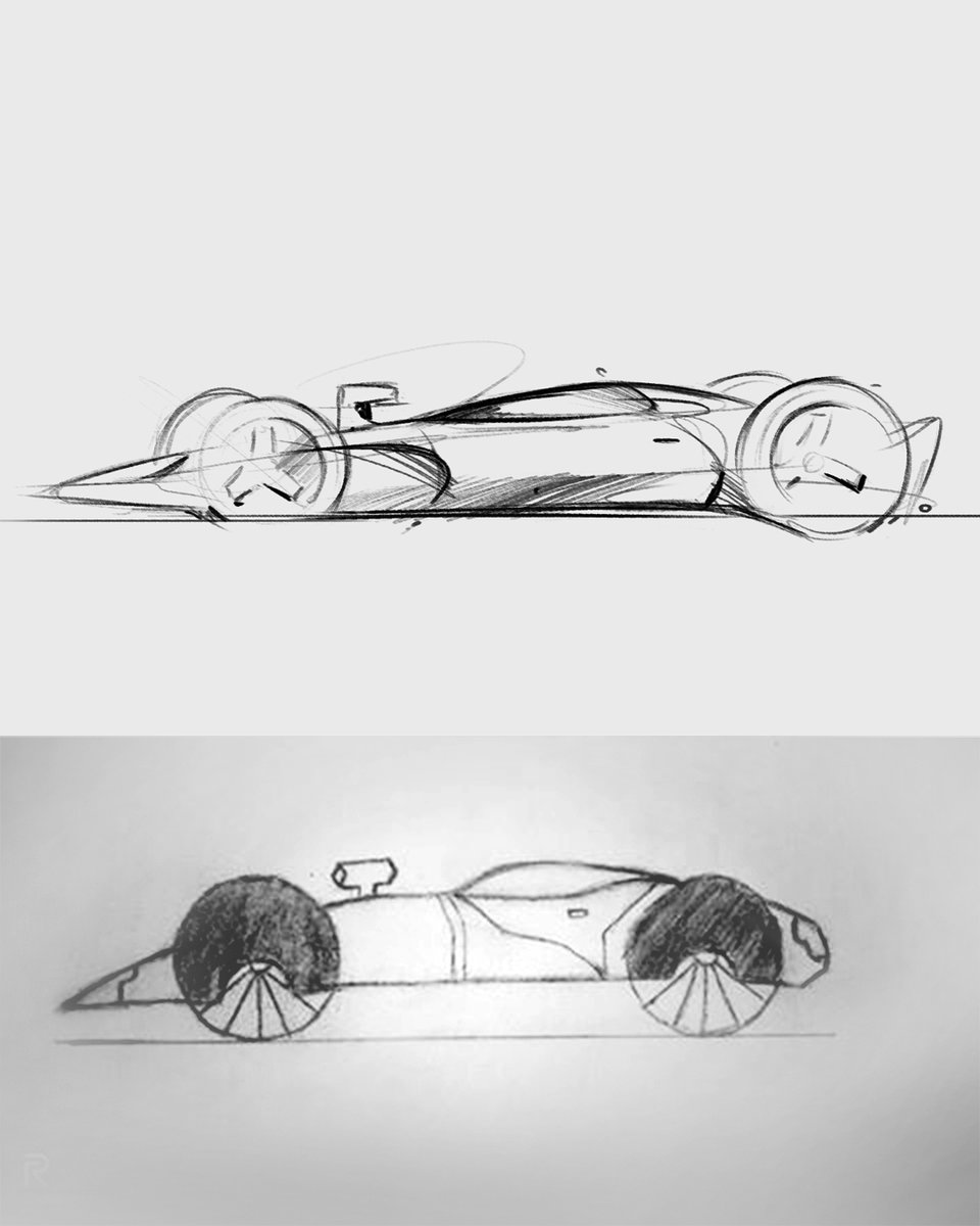 Congratulations to the @Jaguar sketch challenge winner, 15-year-old Pranay from India! Your impressive 'Ultimate Electric Race Car' sketch has been brought to life by #Jaguar Advanced Design Exterior Lead, Oliver Cattell-Ford.   #JaguarElectrifies #FearlessProgress https://t.co/XyzzJTRJEo