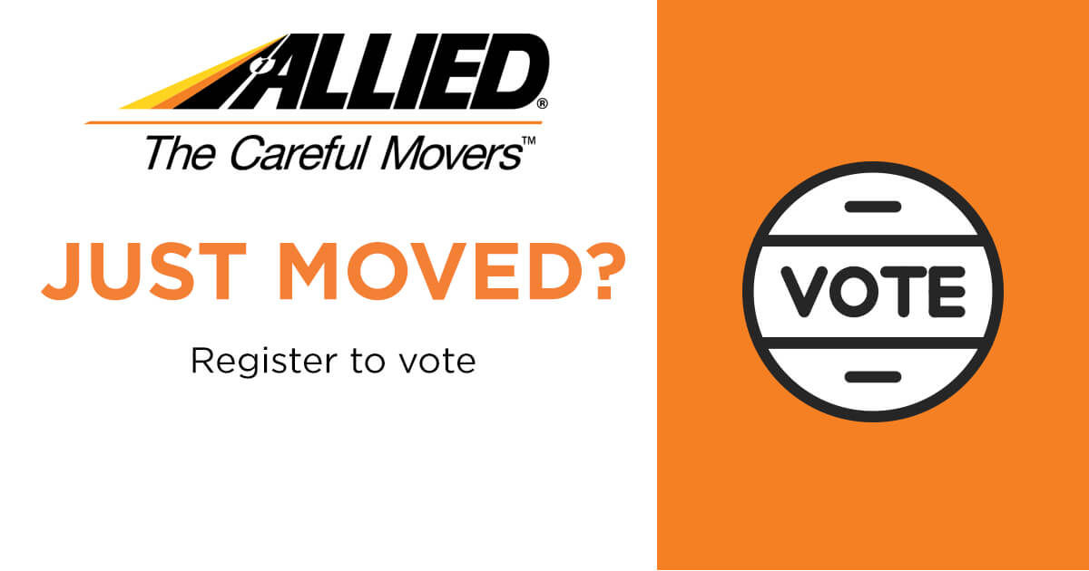 #JustMoved - Elections are right around the corner. Don't forget to update voter registrations. pic.twitter.com/WMkAtkoHiN