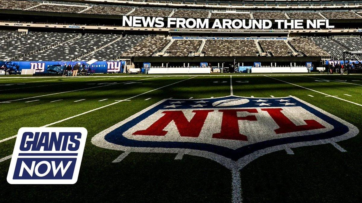 Giants Now: The latest news around the NFL 📰: bit.ly/3gE9ugb