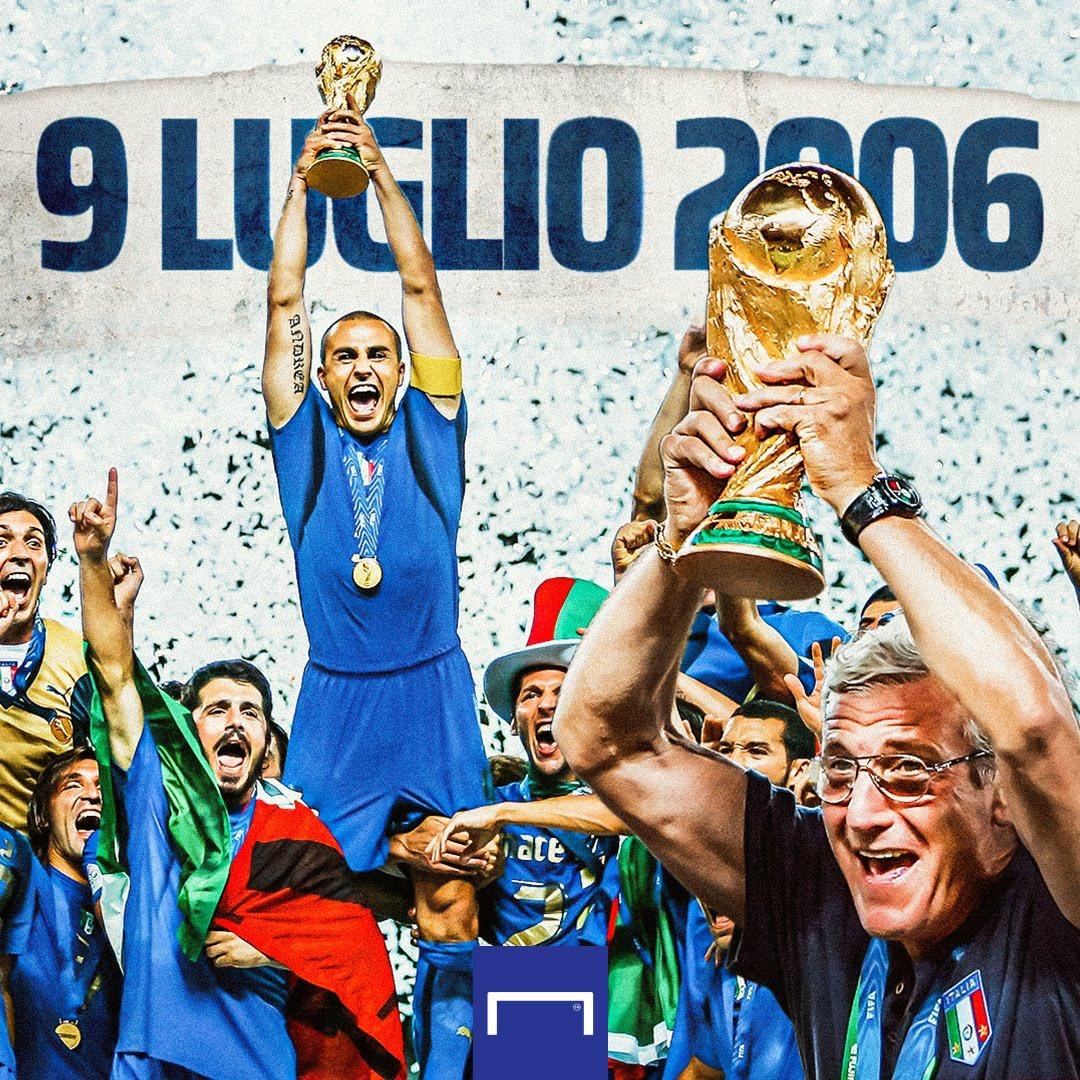 14年前の今日、2006年7月9日に #アッズーリ がフランス代表を下して、4回目の #FIFAワールドカップ 制覇を達成🇮🇹⭐️⭐️⭐️⭐️ #OnThisDay #9luglio https://t.co/gG6WTRWF0H