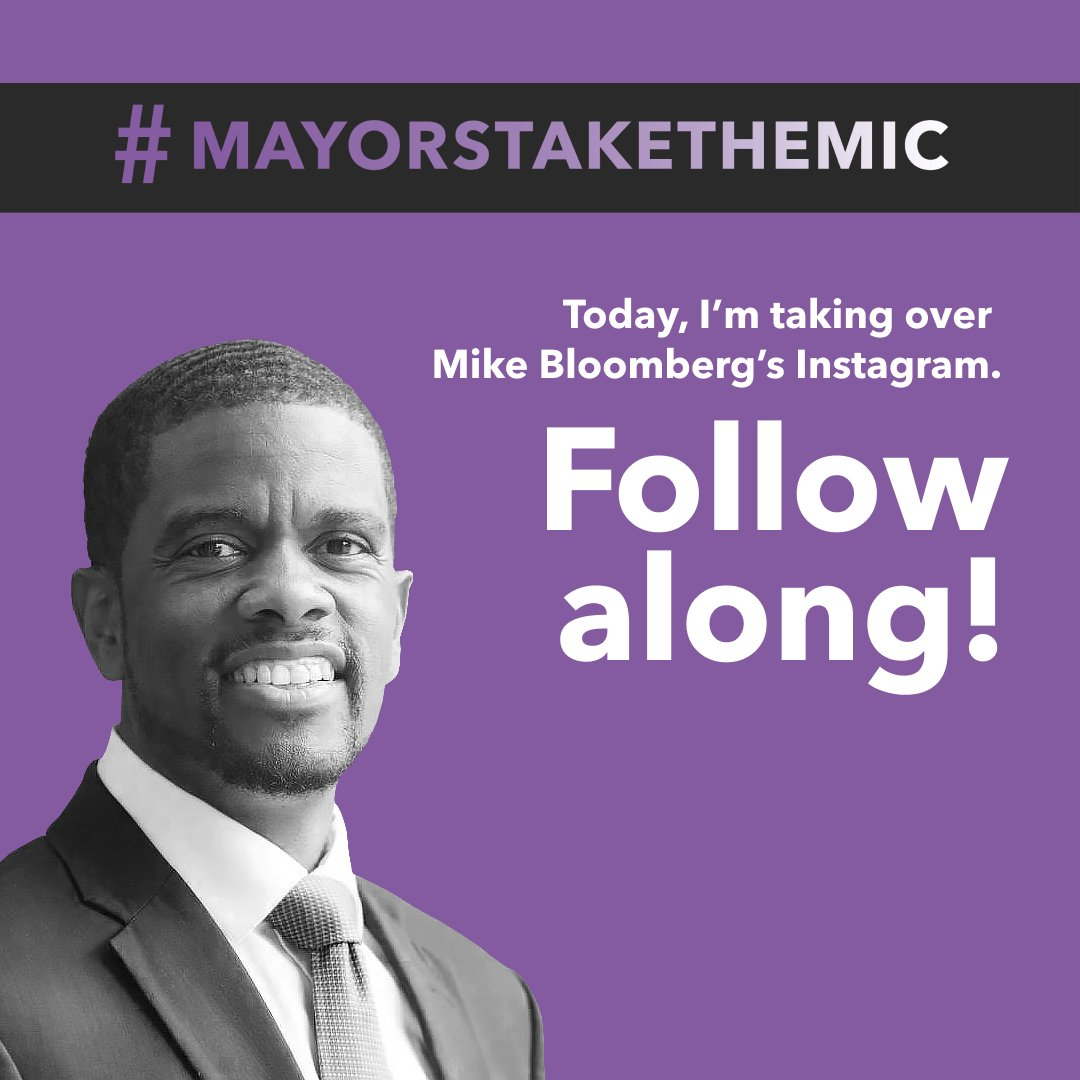 Former New York Mayor @MikeBloomberg is handing over his Instagram account to mayors across the U.S. as a part of a new series called #MayorsTaketheMic. Today, I'm looking forward to sharing what we've been up to in Saint Paul. Follow along all day at https://t.co/vQv7gBT8cz https://t.co/6sZMCiiGzu
