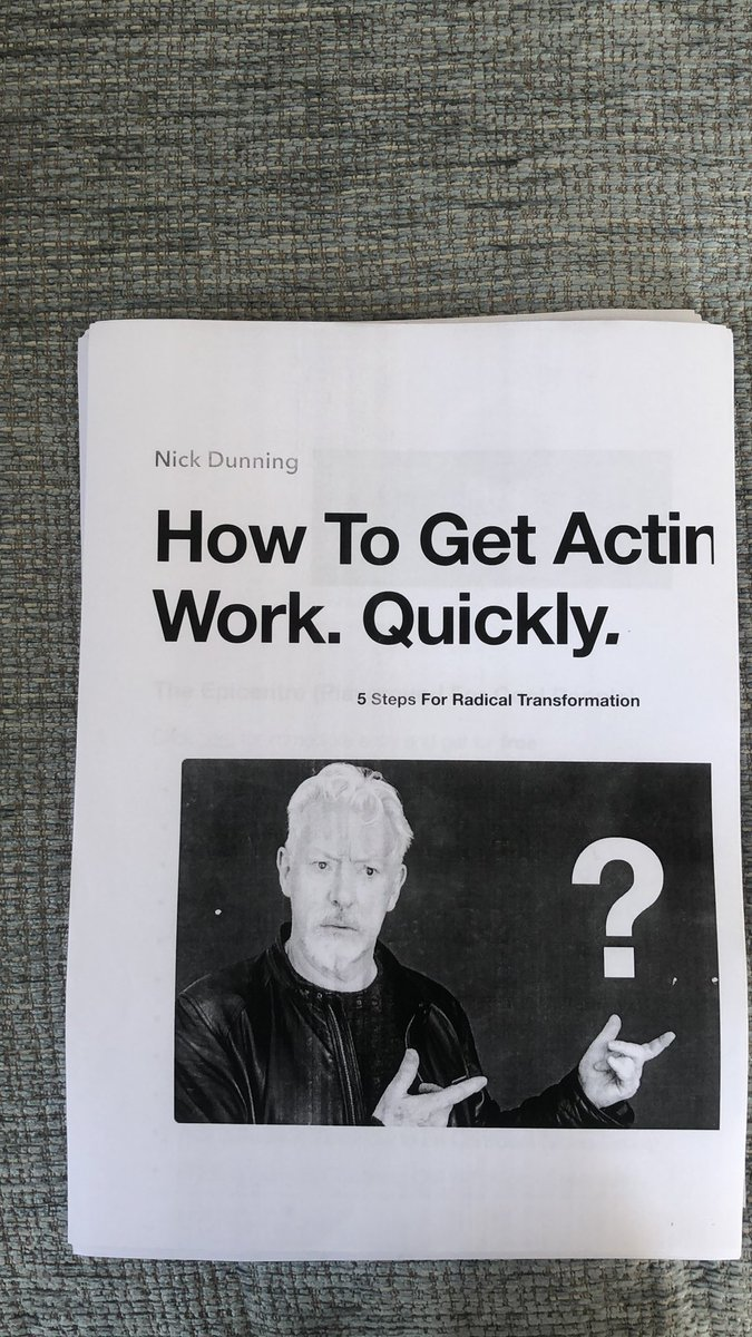 Fantastic advice from the Brilliant Coach and Actor @Nick_Dunning #Actorseducation #Actor #Actorslifepic.twitter.com/XccLRorFaj