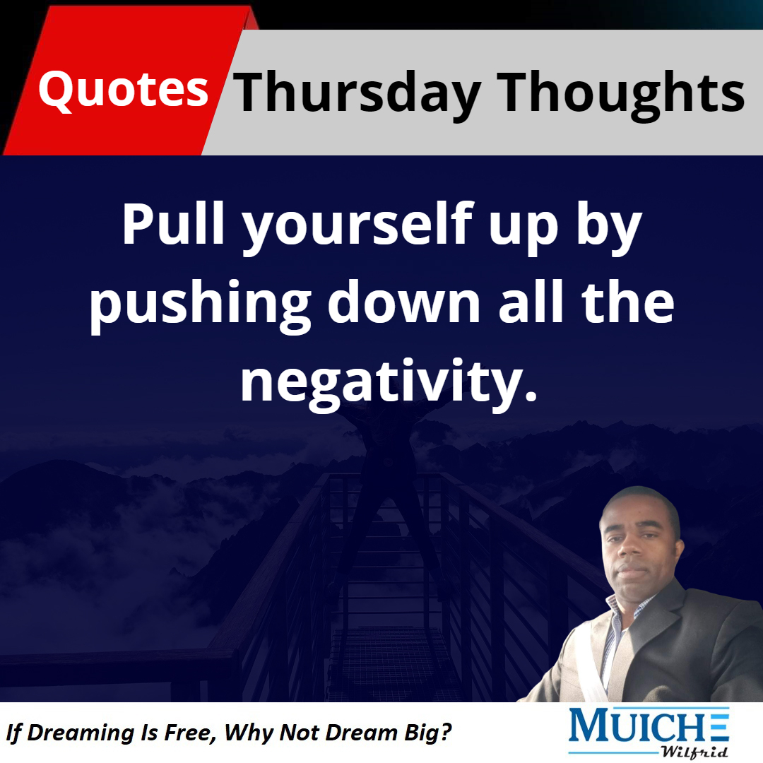 Pull yourself up by pushing down all the negativity.  #Quotes #quoteoftheday #quotestagram #quotesdaily #millionaire #millionairemindset #life #lifequotes #MondayMotivation #Motivation #quotesforlife #Motivationalquotes #inspiration #inspirationalquotes #success #hardwork https://t.co/i80lkCSS6m