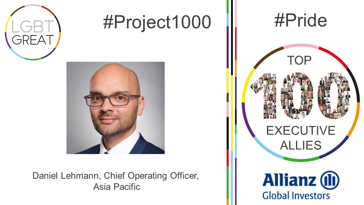 """I believe that all people should be valued as a human beings equally regardless of their identity"" - Daniel Lehmann, Managing Director, Chief Operating Officer Asia Pacific, @AllianzGI_view #Project1000 #Pride #YouMeUsWe https://t.co/h4zmZbRJwZ https://t.co/ogmKfayOzF"
