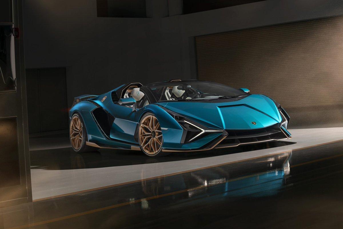 #Lamborghini Sián Roadster : 819 chevaux à ciel ouvert par @lesvoiturescom https://t.co/pwZ2PYAASY #Hypercar #LamborghiniSiánRoadster #LamborghniAdPersonam #SiánFKP37 #SiánRoadster #presse https://t.co/7dsYAhBKyl