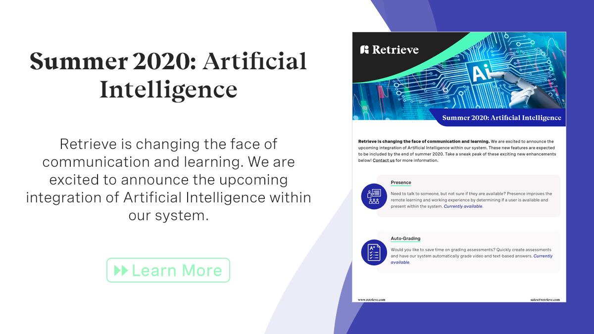 Learn more: https://www.retrieve.com/wp-content/uploads/2020/07/artificial-intelligence-retrieve.pdf…  #artificialintelligence #edtechchat #chatbots #virtualassistants #businesstechnology pic.twitter.com/r4yWqRSXJU