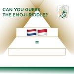 Imagen para el comienzo del Tweet: * EMOJI-RIDDLE * ¡Otro viernes, otro acertijo de Emoji!