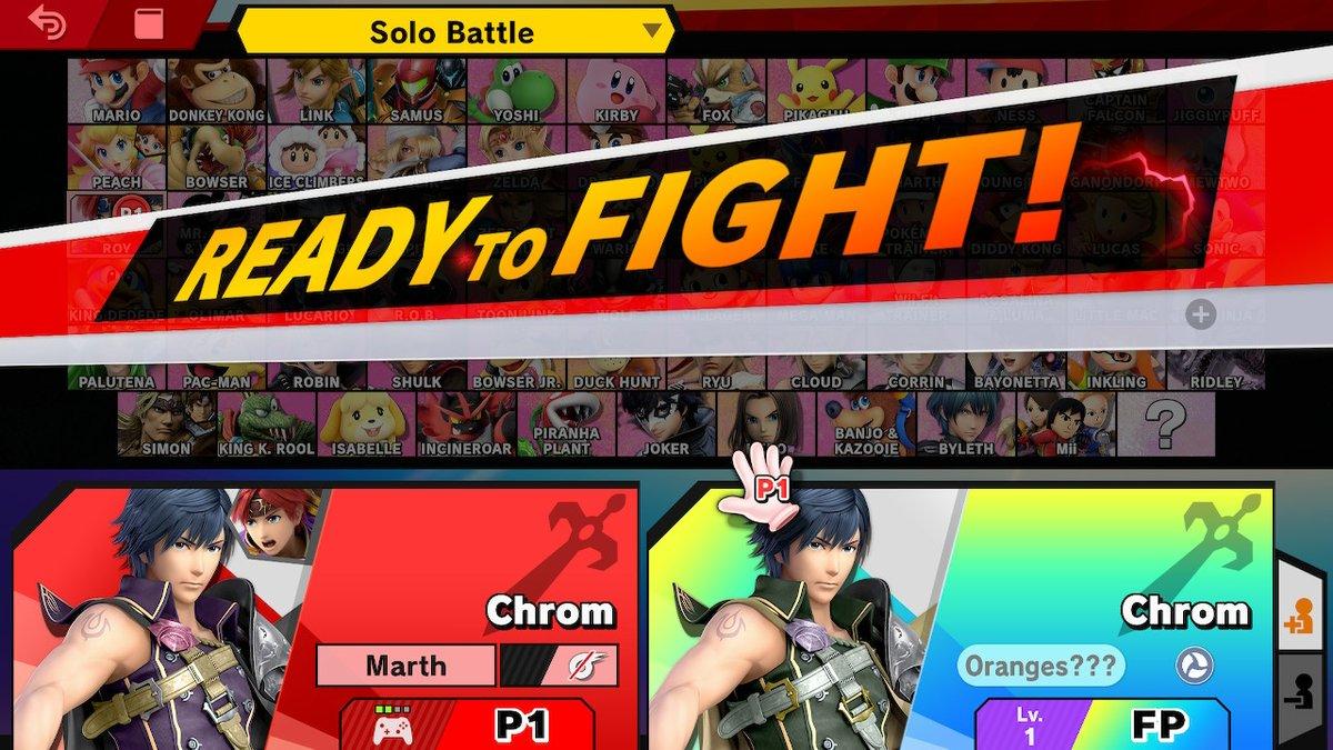 training 1/4 new amiibo. if u get the reference i love you. PS: smash is still fun regardless of the drama. #SmashBros #NintendoSwitch<br>http://pic.twitter.com/LdhKsXuTci