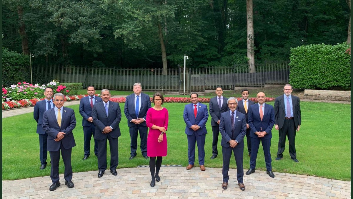 Delighted to participate in a working lunch at Kuwaiti ambassador's residence @jasemalbudaiwi in honor of @HNeumannMEP  Chair of DARP Delegation at the EU Parliament. Together we discussed wide range of issues from the epidemic #virus to #Germany´s Presidency, #EU-#GCC relations https://t.co/BgXgPoPWcL