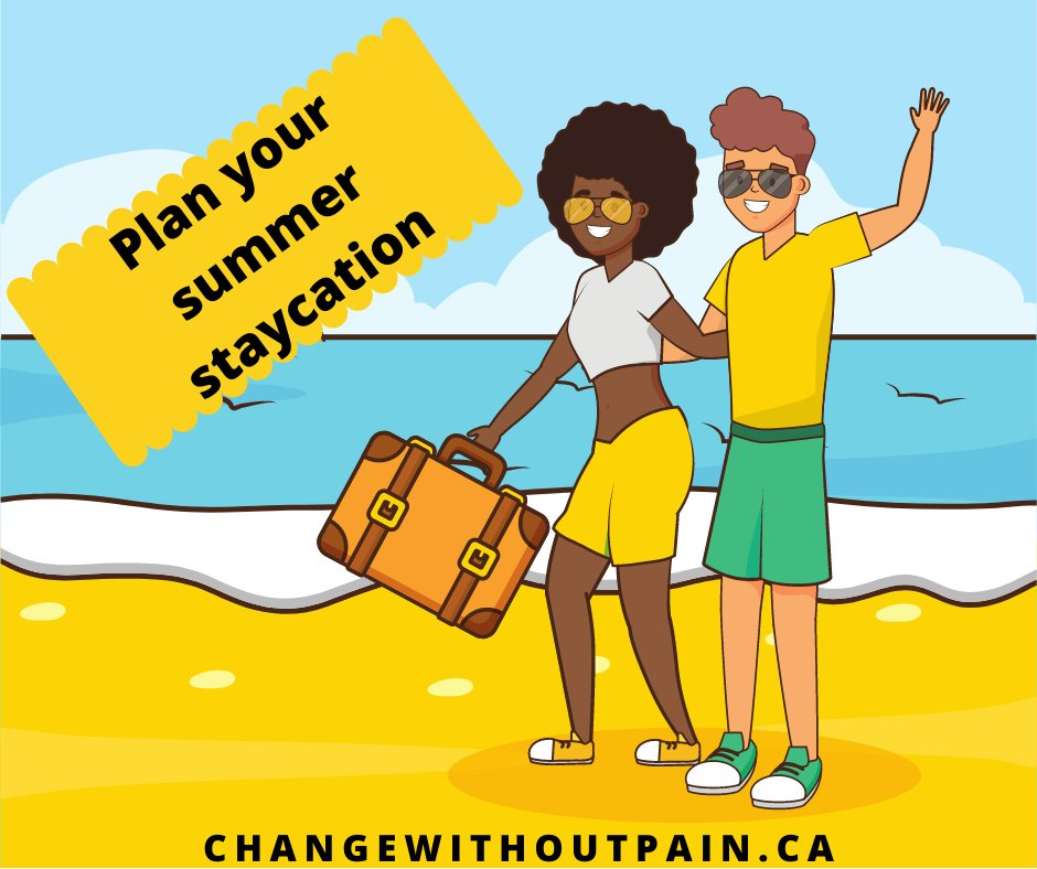 Summer 2020 is different than expected but you can still enjoy it!  You can hack your brain to feel like you're on vacation.   Book a free call! http://ow.ly/c2Qn50AtTpp  #change #transformation #neuroscience #staycation #summer2020 #brainhacks #stressrelief #thursdaythoughtspic.twitter.com/CUf8gBG2Qd