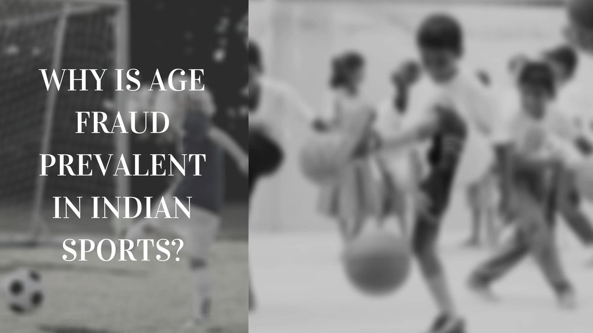 Why Is Age Fraud Prevalent In Indian Sports? @KirenRijiju @IndiaSports @afiindia @Media_SAI @ArupSG  @BFI_official @FederationWrest @AITA__Tennis #AgeFraud #sports   Watch the video here-