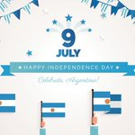 Image for the Tweet beginning: Argentine Independence Day is always
