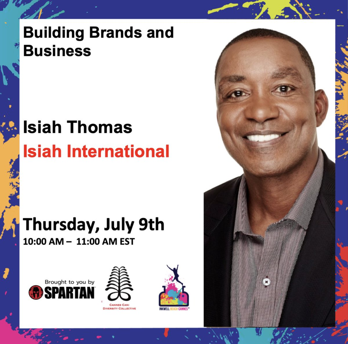 Join me #canneslive #inkwell interview on Business and Branding https://t.co/tTNVKd53lI