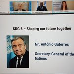 Image for the Tweet beginning: A powerful statement from @antonioguterres