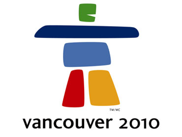 (The logo for the 2010 Vancouver Olympics, featuring a colourful inuksuk) pic.twitter.com/PwqPMPnnaH