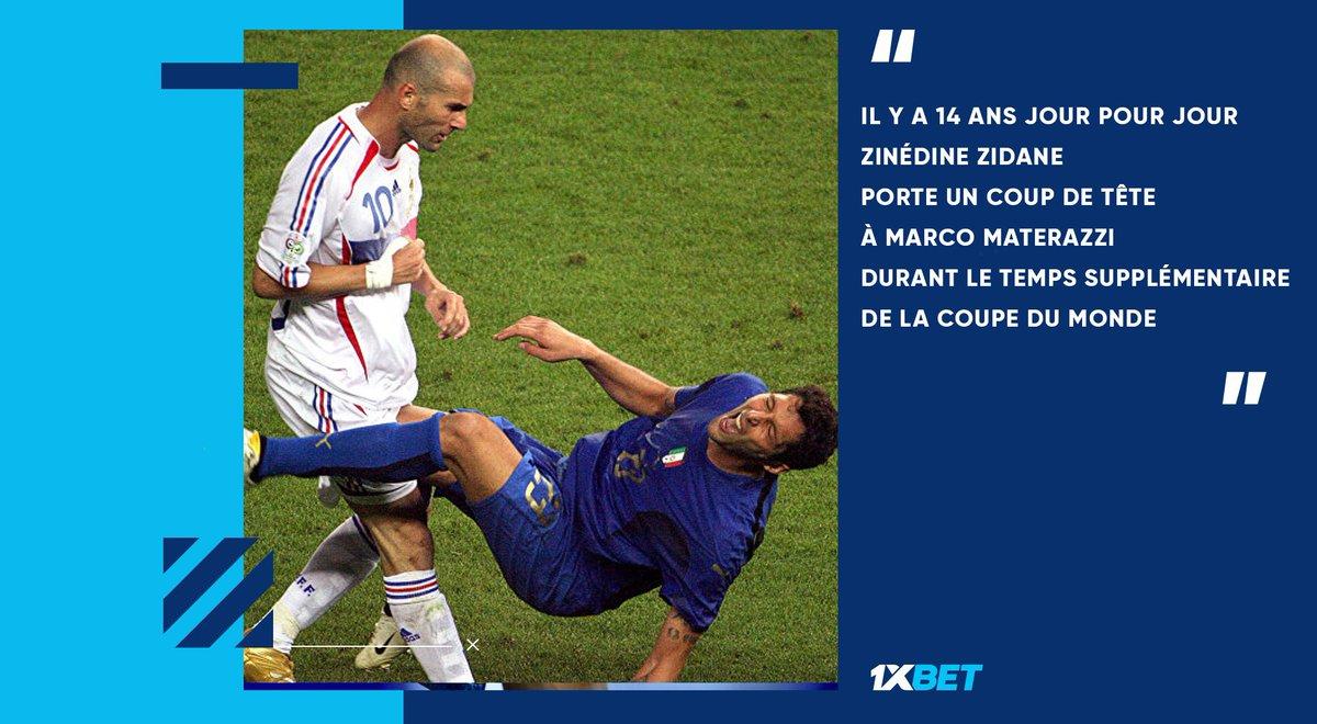 #OTD   #Zidane   #WorldCup   C'était son dernier moment sur le terrain en tant que joueur... https://t.co/krBy16rLSb