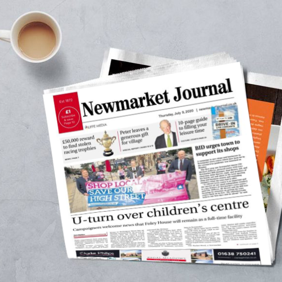 Front page of the Newmarket Journal this week.. our socially distanced tour around Newmarket, finding out how we can #SaveOurHighStreet . Thankyou to the business owners we were able to talk with. Some interesting issues and ideas highlighted.  #NewmarketBID #LoveNewmarket<br>http://pic.twitter.com/aKUObcHTVs