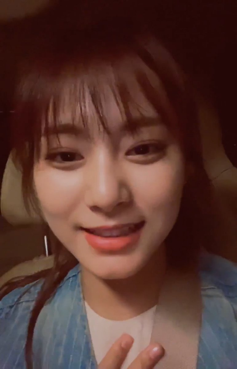 Favourite ice cream? Tzuyu: My favourite ice cream is... is... green tea? Or... or... I dont know Tzuyu best girl for doing her best to answer in English 🥰