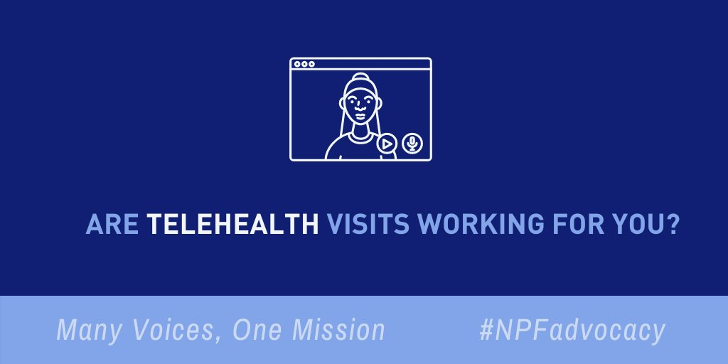 The #COVID19 pandemic has made #telehealth more important than ever. #NPF wants to make sure it's working for people living with psoriatic disease. Have you had a virtual appointment recently? Tell us about how it went: ow.ly/SuCN50Ao5ie