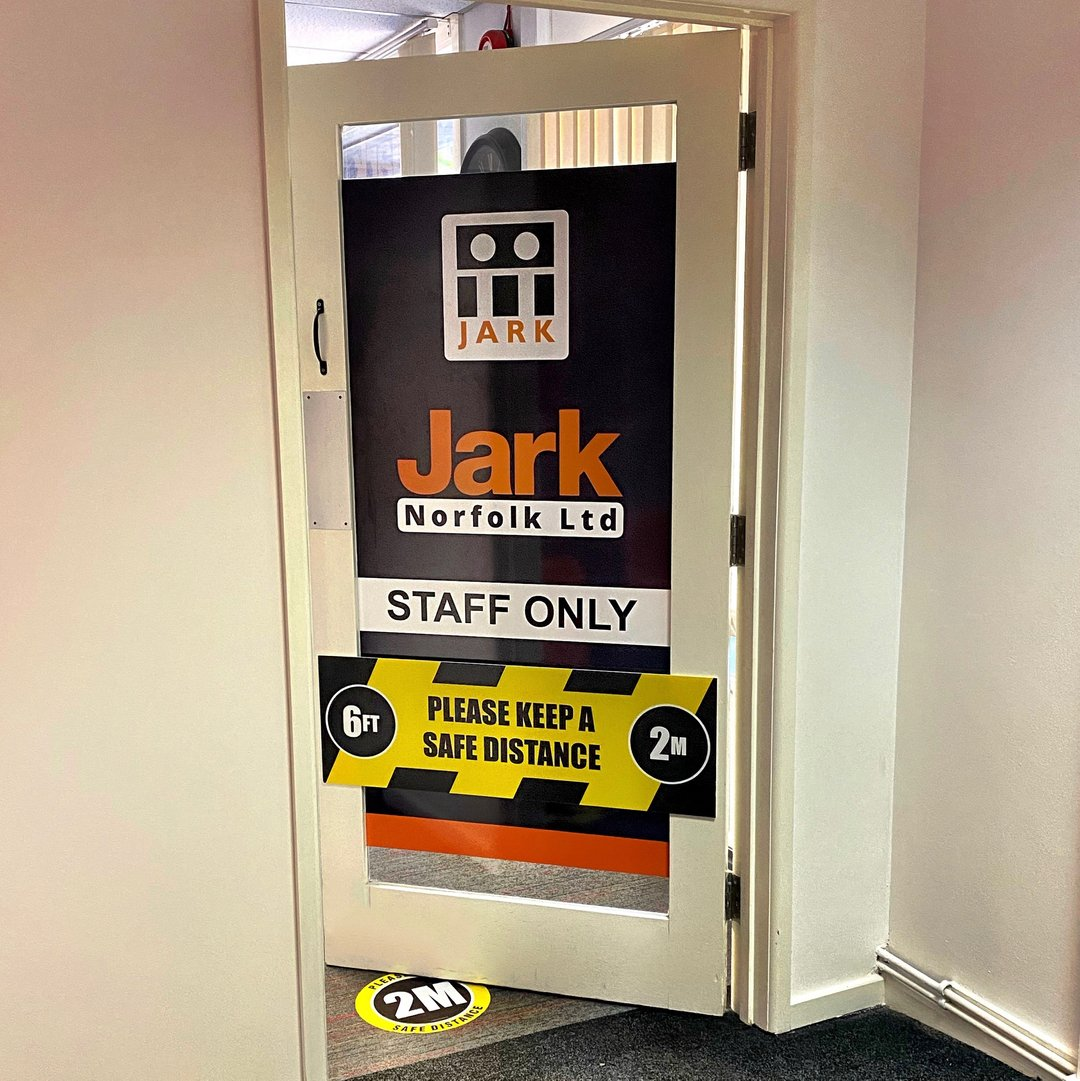 Here at Jark Norfolk HQ, the health and safety of our employees remains our top priority.  ⠀⠀⠀⠀⠀⠀⠀⠀⠀ ⠀⠀⠀⠀⠀⠀⠀⠀⠀ #jarknorfolkhq #headquarters #office #employees #toppriorities #healthandsafety #priorities #covid19 #coronavirus #officelife # pic.twitter.com/PDfWIVqVVH