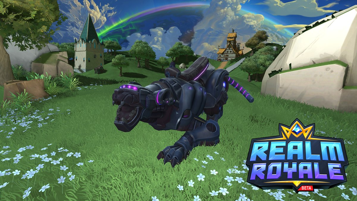 The Mecha Prowler is roarin its way through Realm Royale today. Be the coolest cat in your squad with this mechanical wonder charging into battle!