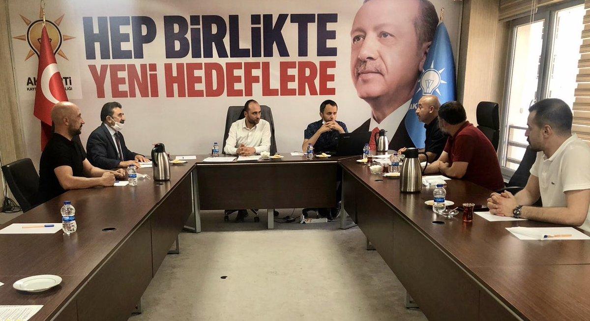 İlçelerimizle alakalı gerçekleştirilen istişare toplantılarının devamında Hacılar, İncesu, Özvatan, Pınarbaşı ve Sarıoğlan ilçelerimizle ayrı ayrı toplantı gerçekleştirildi. @erkankandemir @halisdalkilic @sabancopuroglu https://t.co/cNRhN1k7HW