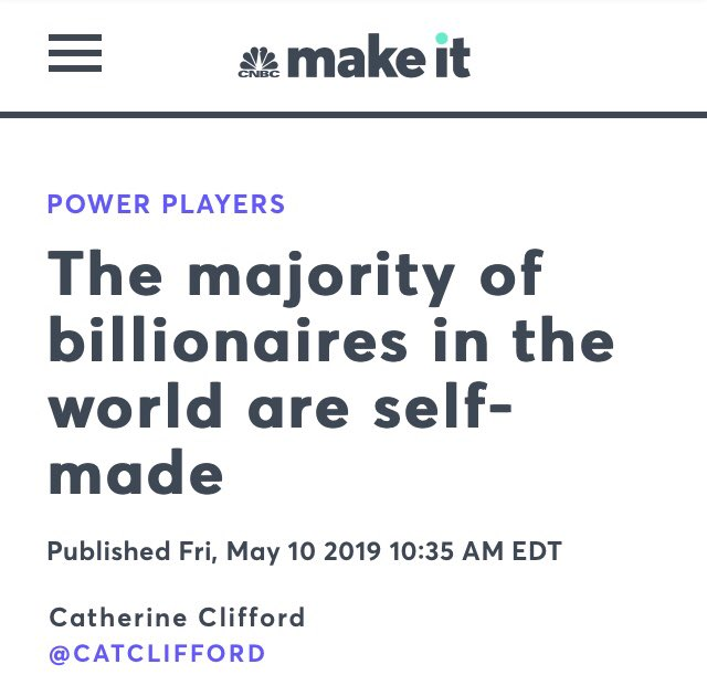 Lol okay. Guess none of them had parents that could support them and their interests financially.
