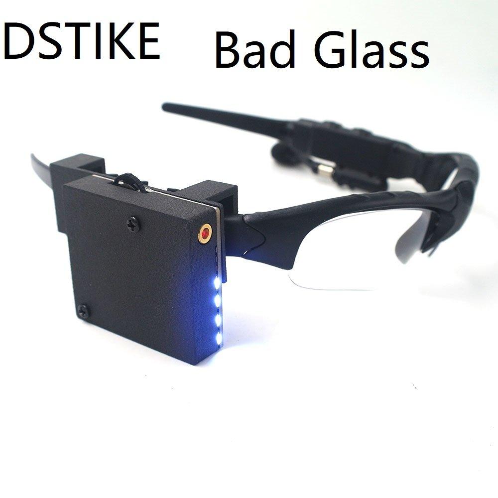 DSTIKEからまた変なBADシリーズが出てた。今度はBAD GLASS。atmega32u4搭載のメガネフレーム。関連資料