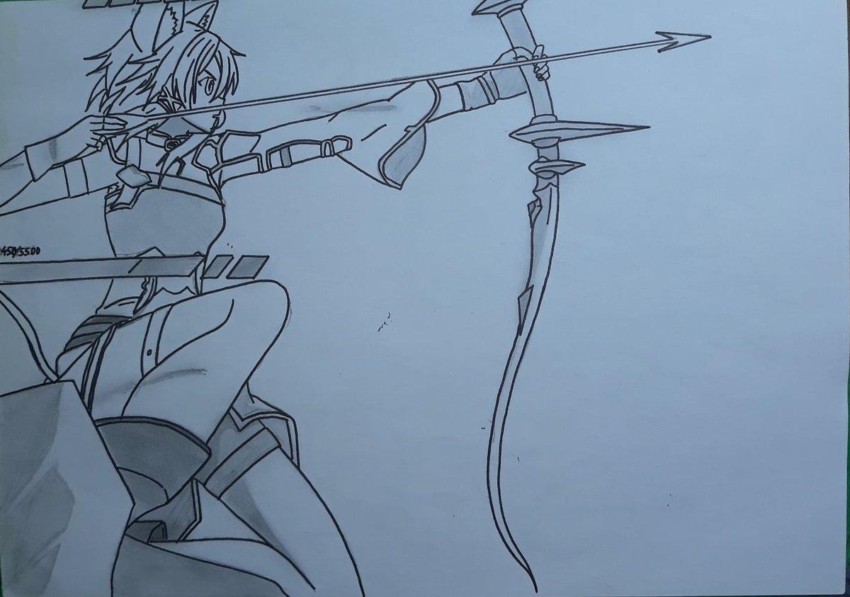 I never miss my target !  ~ Sinon { Sword Art Online } . . . #drawings #drawing #animedrawing #anime #art #instart #swordartonline  #mangapic.twitter.com/fh2CD0rCGW