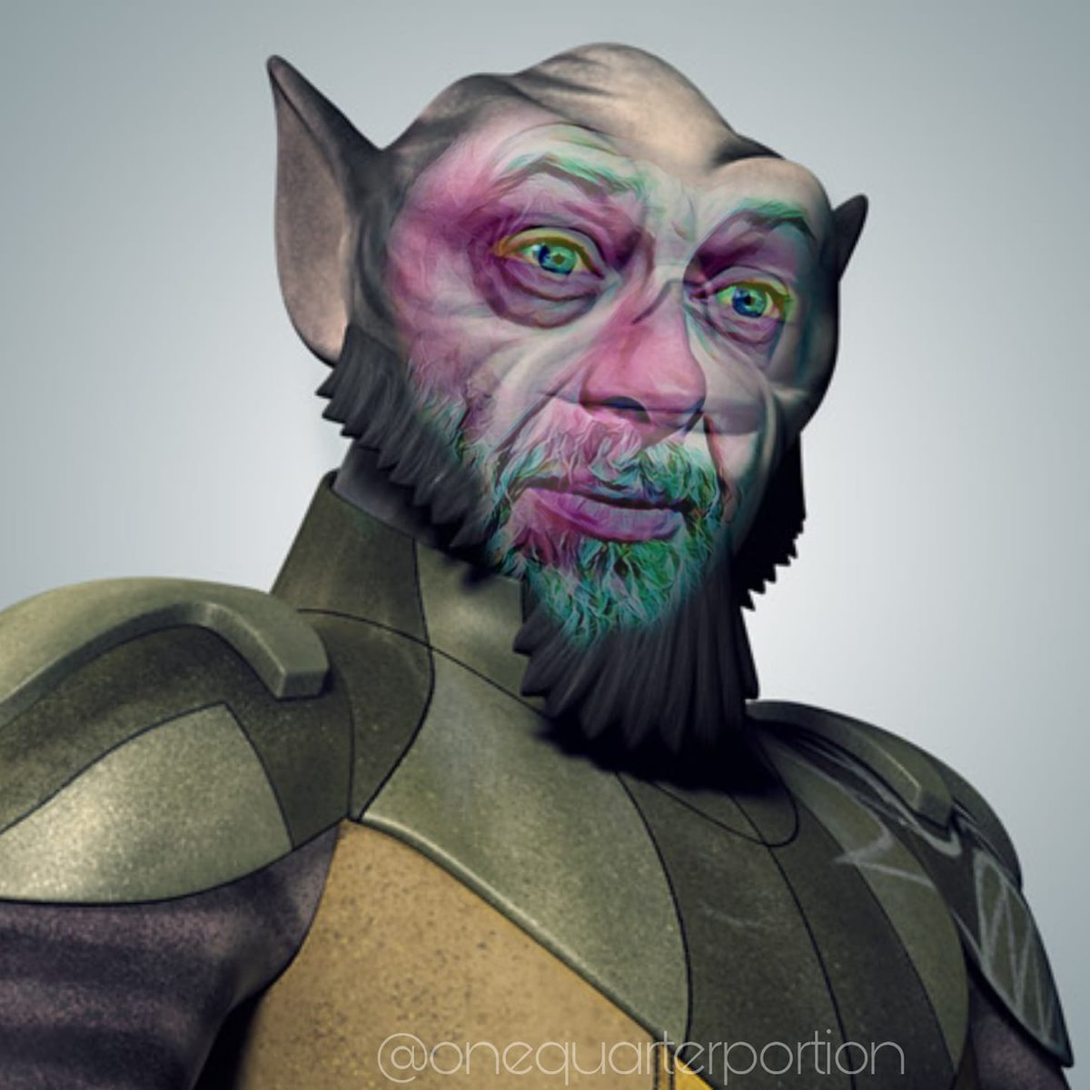 """""""Once you Serkis Zeb, you can't unsee.""""  #starwars #AndySerkis #Zeb #starwarsrebels #starwarsmemes #starwarsart #funnymemes #art #OneQuarterPortion https://t.co/61IV0yTCCd"""