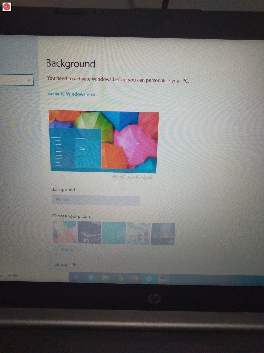 - windows aku dicek aktif tapi background ininya gabisa diubah kenapa ya pic.twitter.com/2GLmA53fy3