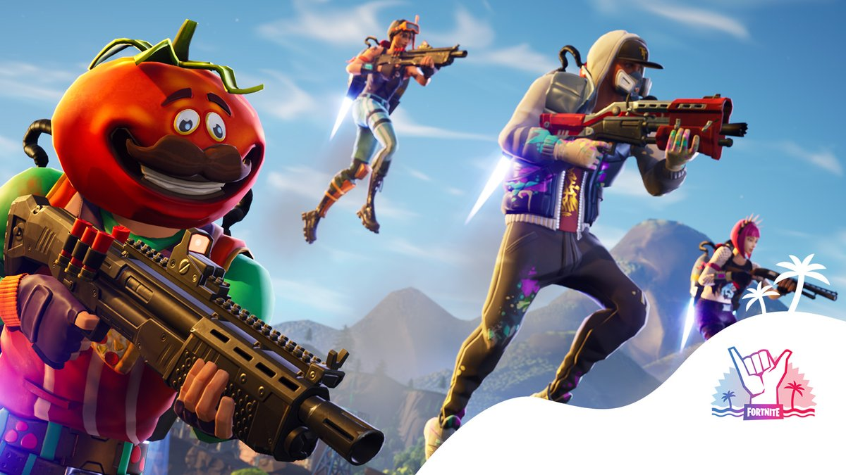 """#Fortnite News Update: Close Encounters Squads """"Shotguns and Jetpacks. All you need for plenty of close calls."""" pic.twitter.com/6MSUyJ5ilp  Use Creator Code: TWITCH-SREYS if you'd like to support us  #FortniteBR #SupportACreator #SAC #EpicGames"""