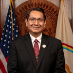 Image for the Tweet beginning: Navajo President: We Are at