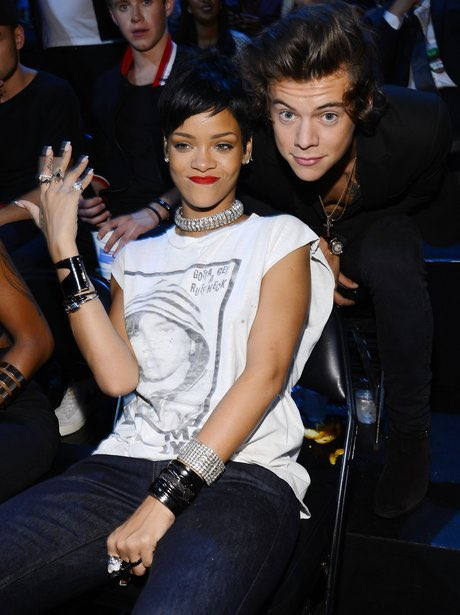 The duo we never knew we needed! Circa 2013 VMAs in BK. Who do you want to see this year? #tbt (📷: Getty / Larry Busacca) @Harry_Styles @rihanna