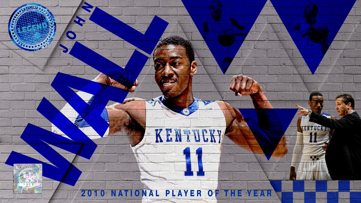 A transformational talent, @JohnWall was 2010 National Player of the Year 🏆