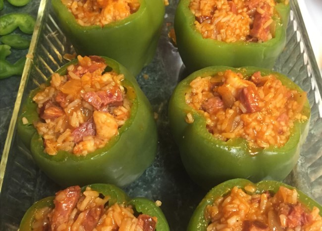 This #recipe puts a Cajun twist stuffed peppers. #goodfood  http://cpix.me/a/100696340pic.twitter.com/rY5hs81uOS