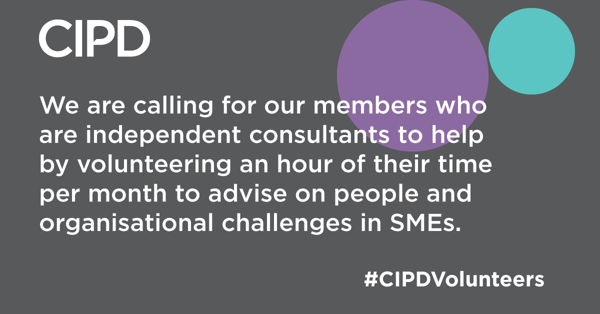 Weve partnered with @e_nation to support @beisgovuk to launch new Recovery Advice for Business Scheme, aimed at SMEs to help them get back on their feet. Find out more here: bit.ly/2ZQ2iXC #CIPDVolunteers